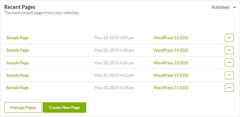 MainWP Widgets 4