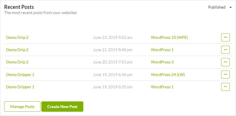 MainWP Widgets 3